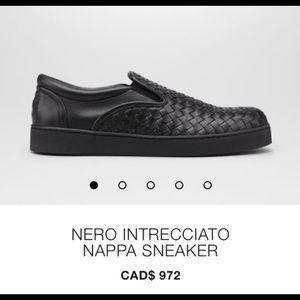 Bottega Venetta Intrecciato Nappa Sneakers Shoes